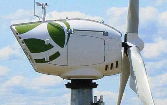 Composite materials wind turbines parts